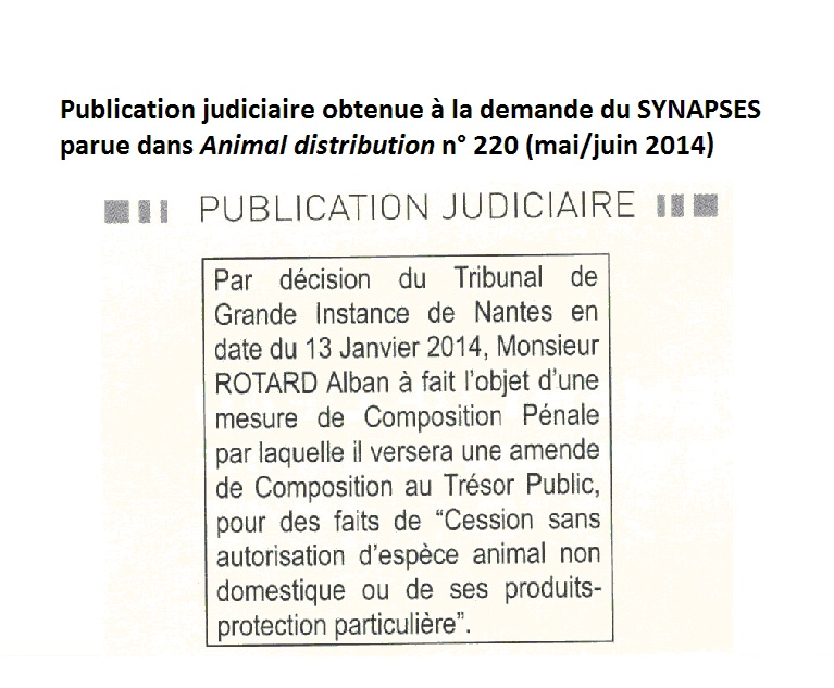 Publication animal distribution